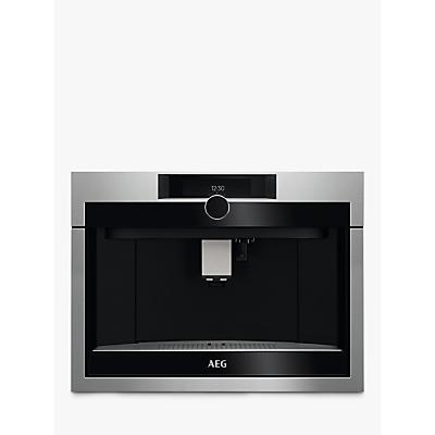 AEG KKE994500M Built-In Coffee Machine, Stainless Steel