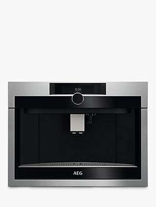 AEG KKE994500M Built-In Coffee Machine, Stainless Steel