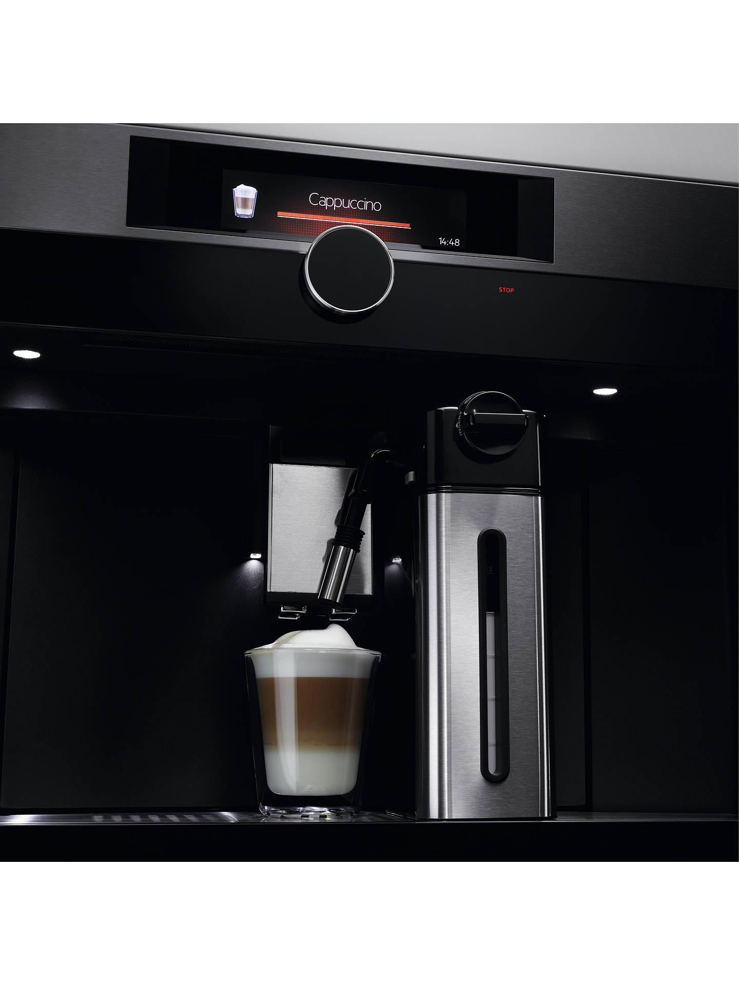 Aeg Kke994500m Built In Coffee Machine Stainless Steel