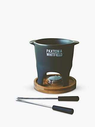 Paxton and Whitfield Small Cheese Fondue For Two Set