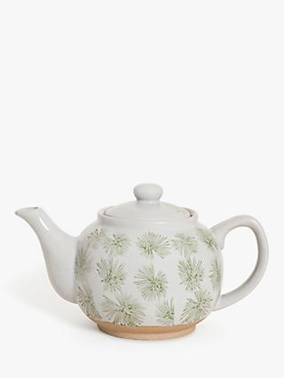 BlissHome Nadiya Hussain Green Palm Teapot, 750ml
