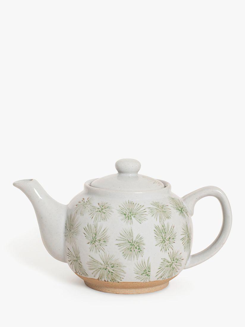 BlissHome Nadiya Hussain Green Palm Teapot, 750ml