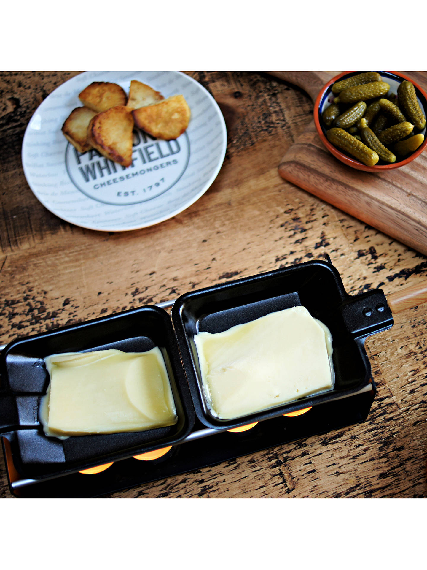 Buy Paxton and Whitfield Cheese Raclette Set Online at johnlewis.com