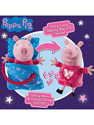 Peppa Pig Sleepover Peppa Bedtime Companion