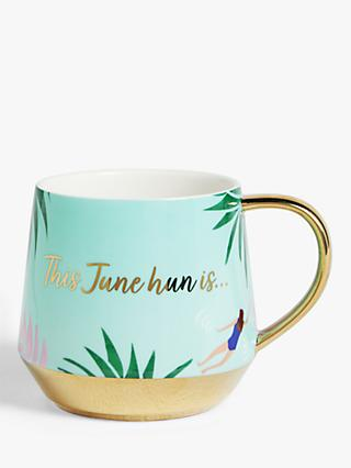 John Lewis & Partners June Slogan Mug, 450ml