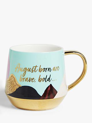 John Lewis & Partners August Slogan Mug, 450ml