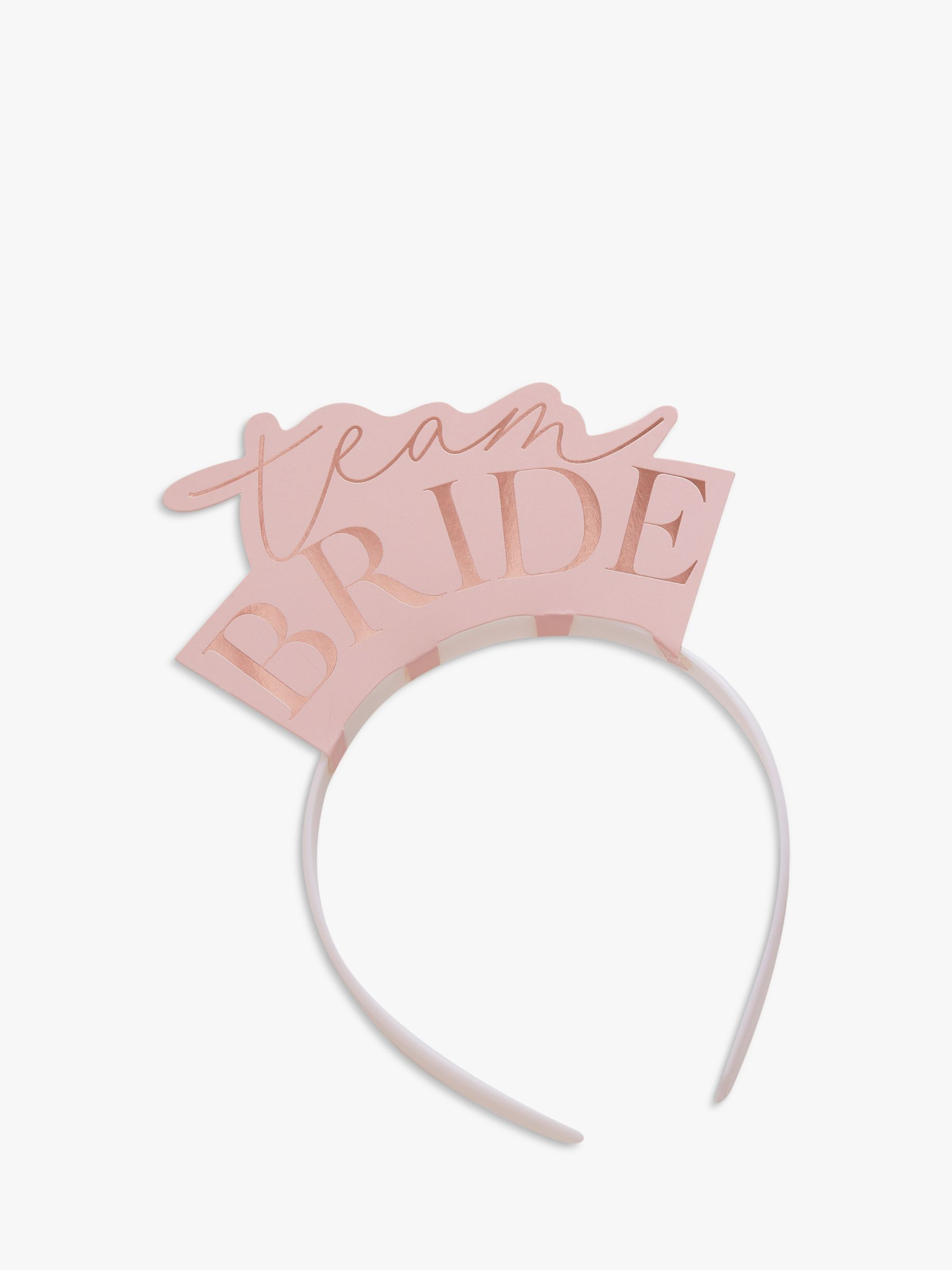 Ginger Ray Ginger Ray Rose Gold Team Bride Headbands, Pack of 5