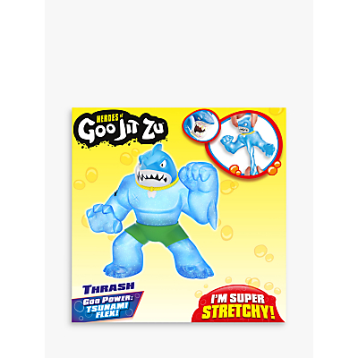 Heroes of Goo Jit Zu Thrash the Shark Squishy Action Figure