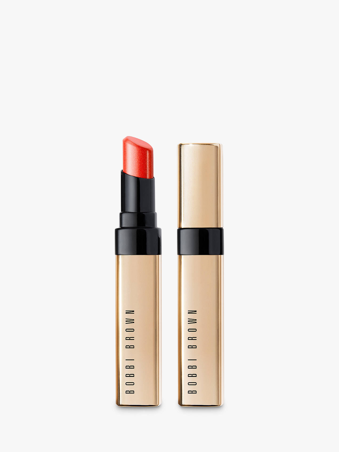 Buy Bobbi Brown Luxe Shine Intense Lipstick, Show Stopper Online at johnlewis.com