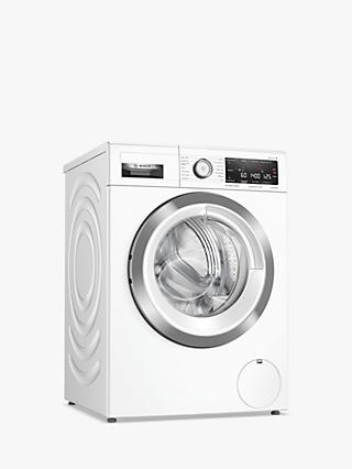 Bosch Serie 8 WAV28MH9GB Freestanding Washing Machine, 9kg Load, 1400rpm, White