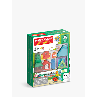 Magformers Mini World Milos Mansion Set