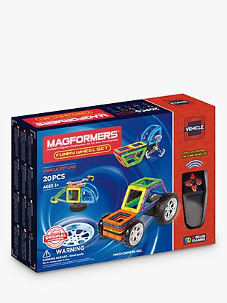 Magformers Vehicle Funny Wheel 20 Set