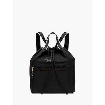 Radley Crofters Way Drawstring Backpack, Black