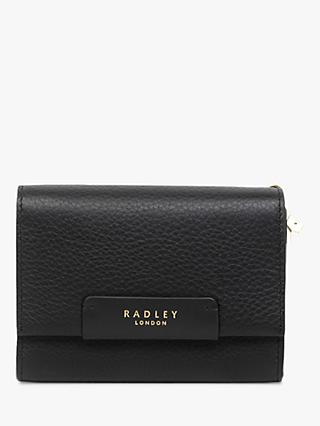 Radley Arlington Court Leather Medium Flap Over Purse