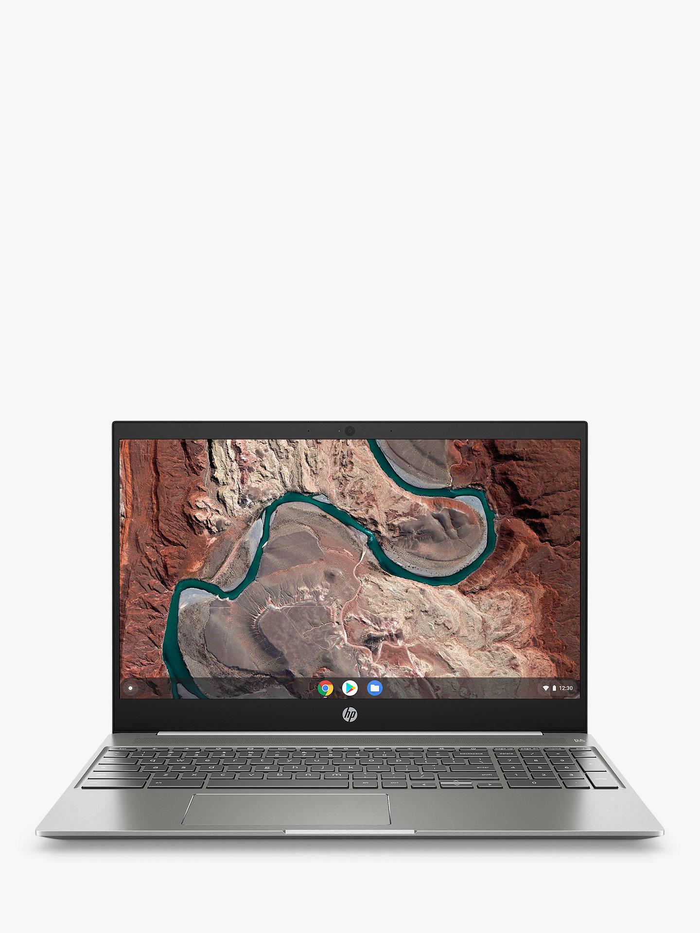 HP 15-de0000na Chromebook Laptop, Intel Pentium Gold Processor, 4G RAM,  64GB eMMC, 15 6
