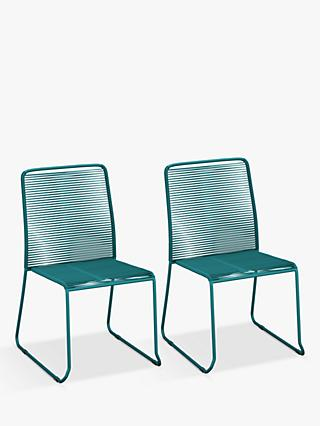 John Lewis & Partners String Garden Chairs, Set of 2