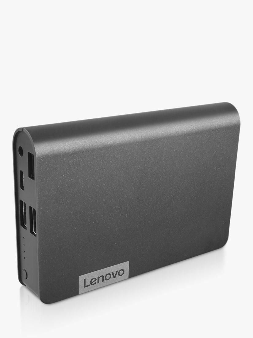 Lenovo Lenovo 14000mAh Portable Power Bank Charger with USB-C and 2x USB-A Ports, Grey