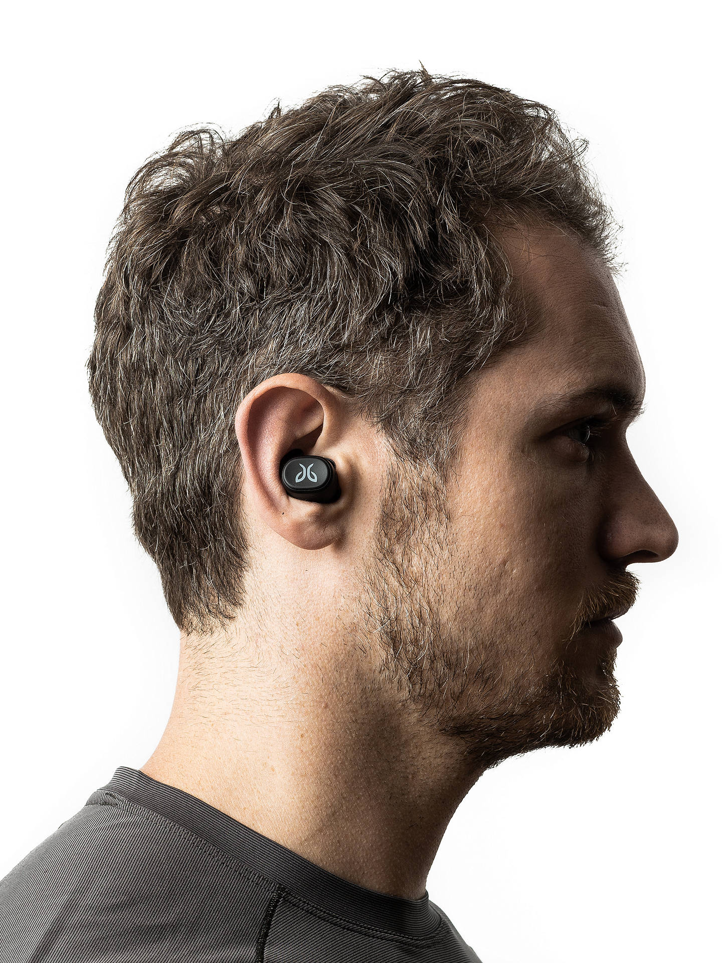 Buy Jaybird Vista True Wireless Sweat & Weather-Resistant Bluetooth In-Ear Headphones with Mic/Remote, Nimbus Gray Online at johnlewis.com