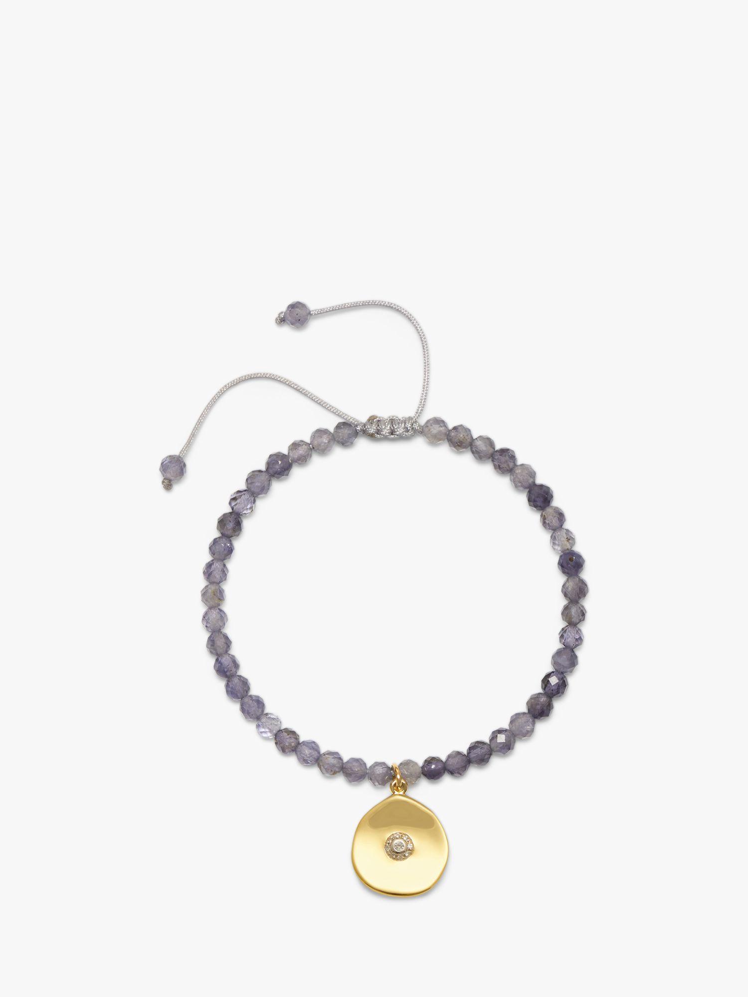 Lola Rose Lola Rose Curio Semi-Precious Bead Coin Charm Bracelet