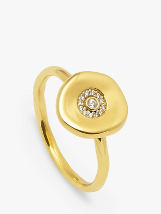 Lola Rose Curio Coin Ring, Gold