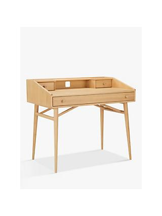 ercol for John Lewis Shalstone Desk, Oak