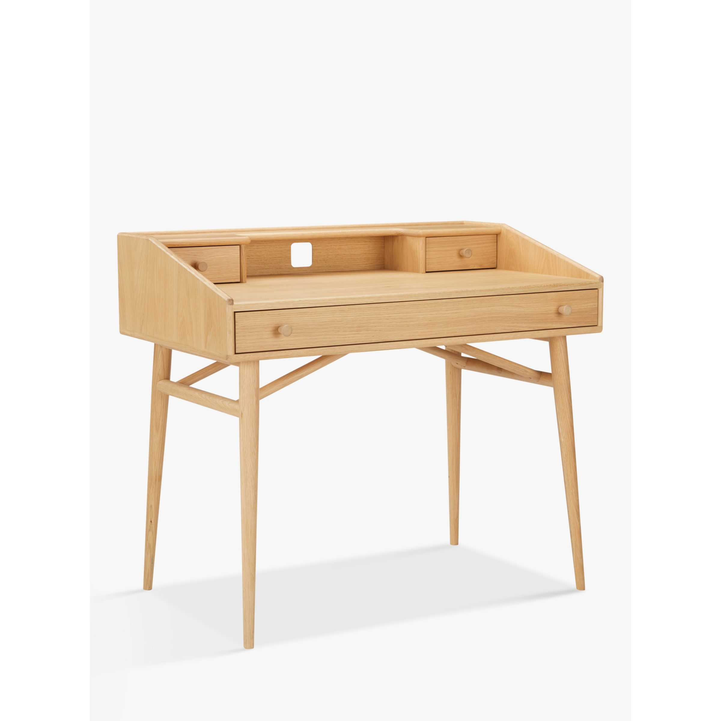 ercol for John Lewis ercol for John Lewis Shalstone Desk, Oak
