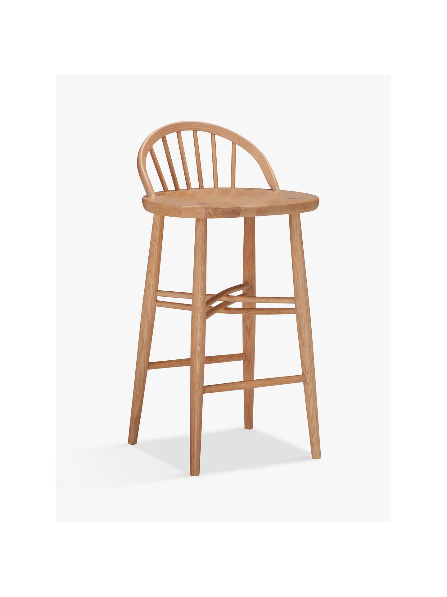 ercol for john lewis shalstone bar stool at john lewis
