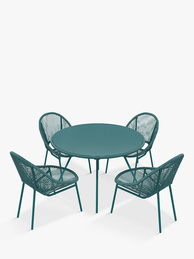 John Lewis Partners Salsa 4 Seat, Round Table And Chairs Set
