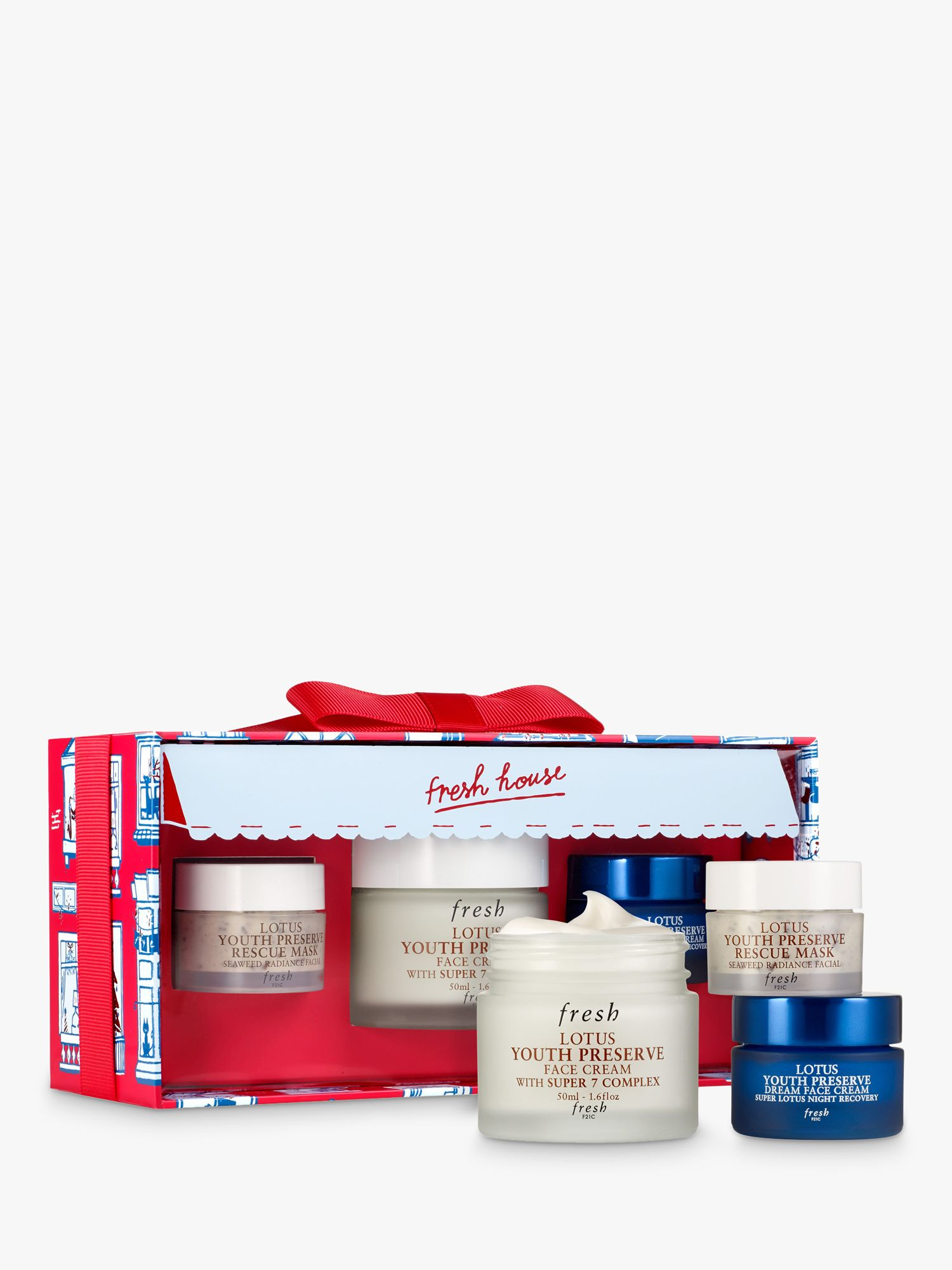 Fresh Radiance Romance Skincare Gift Set At John Lewis Partners