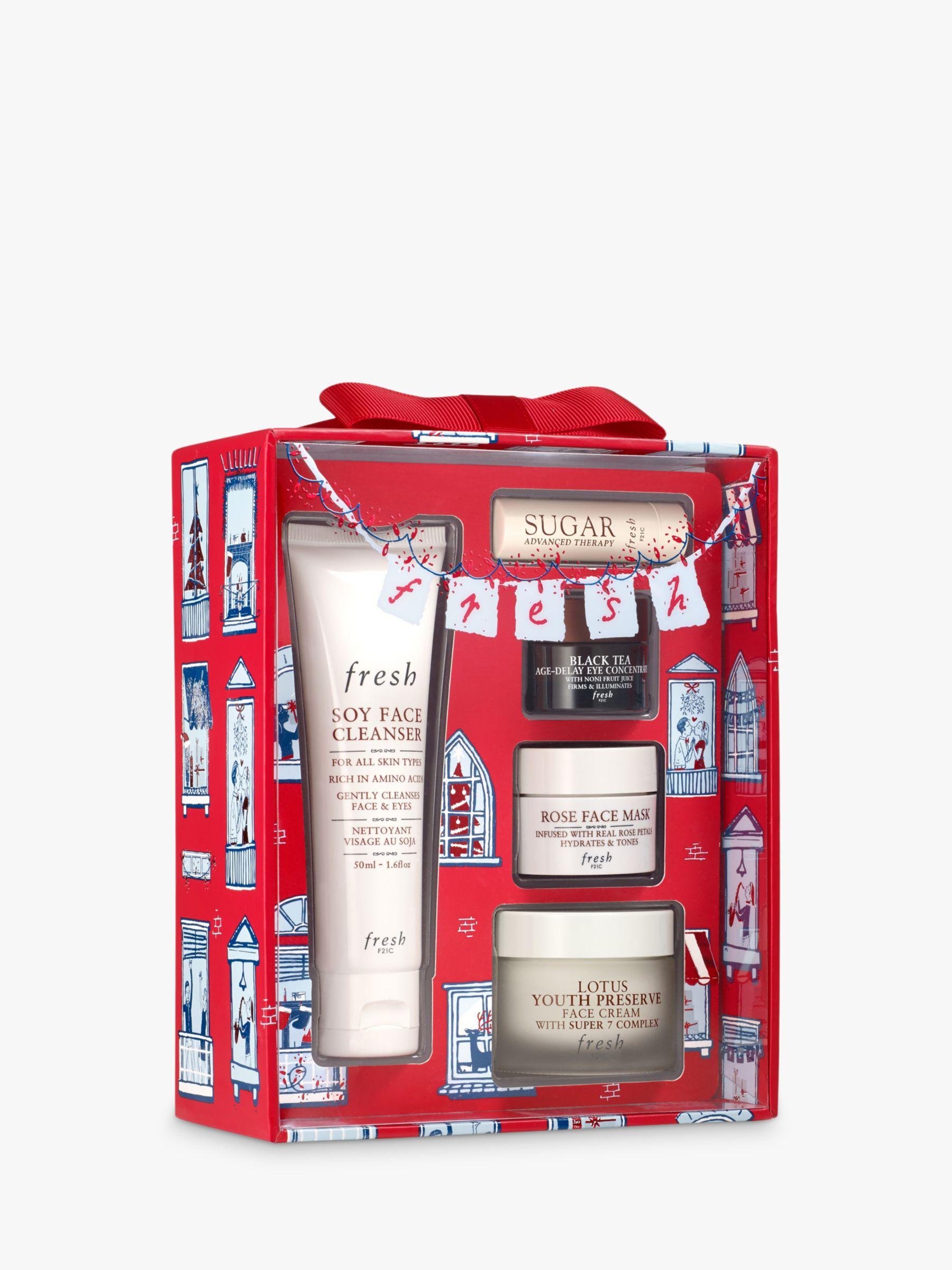 Fresh Evergreen Routine Skincare Gift Set At John Lewis Partners