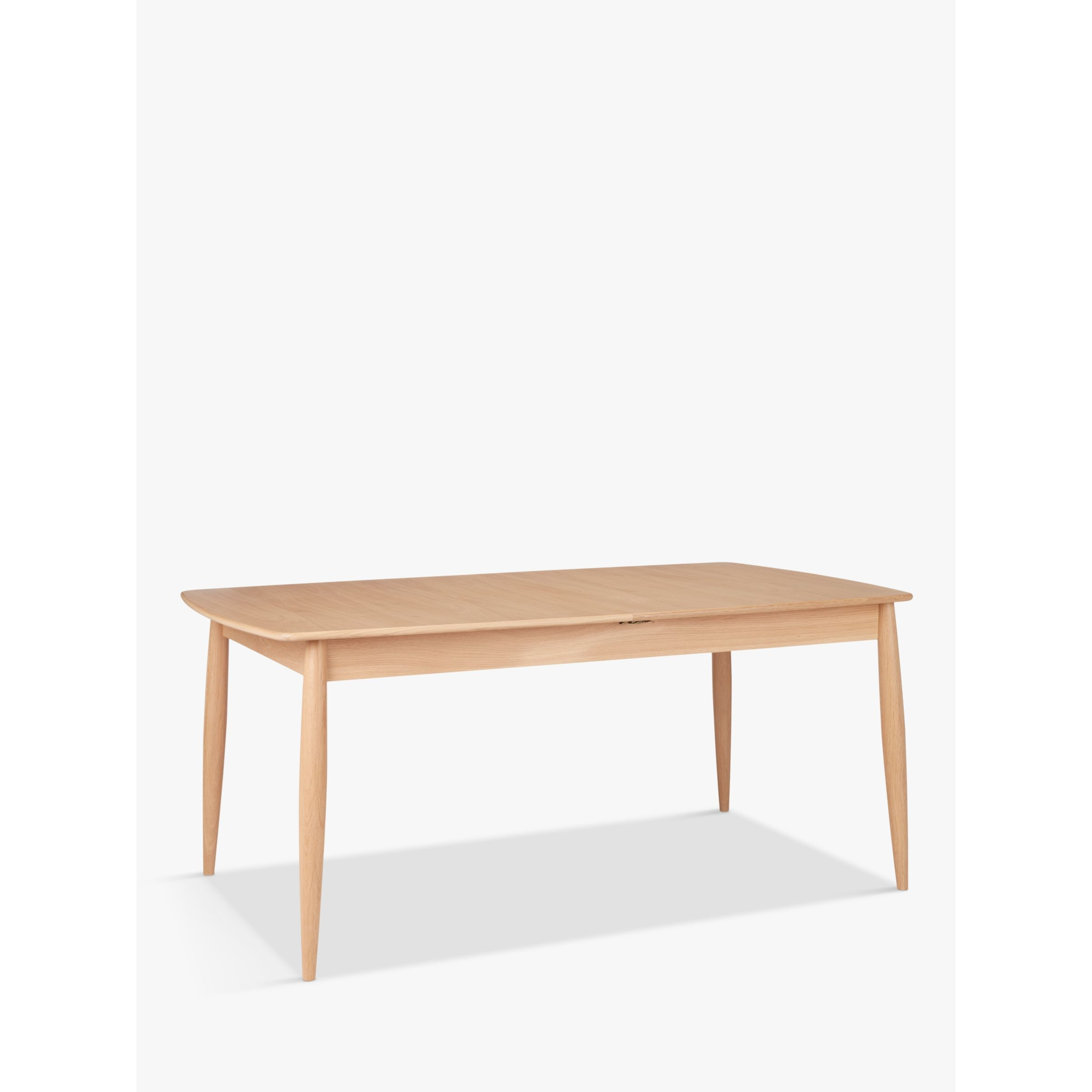 ercol for John Lewis ercol for John Lewis Shalstone 6-8 Seater Extending Dining Table, Oak