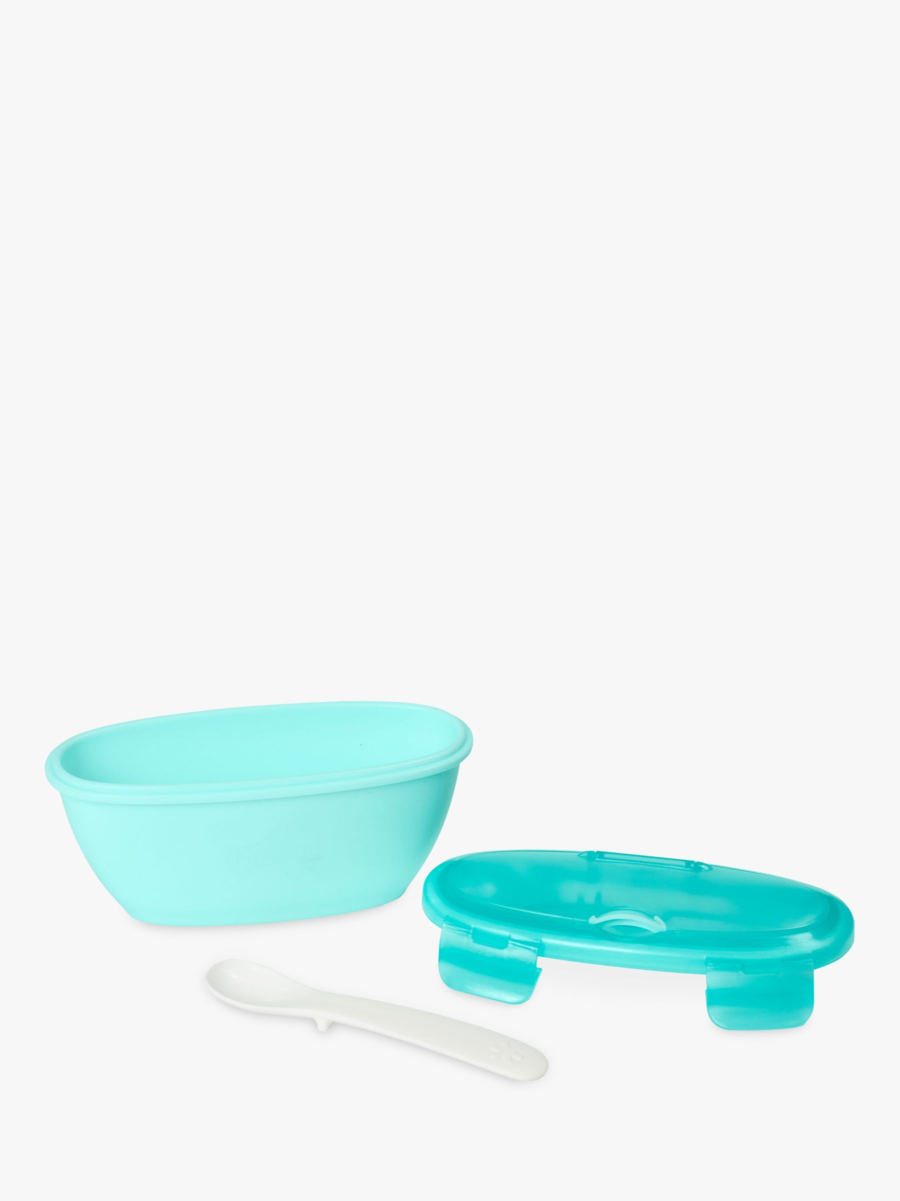 Skip Hop Skip Hop Baby Travel Bowl & Spoon Set, Teal