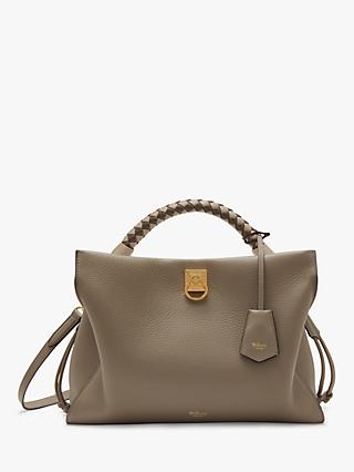 Mulberry Iris Heavy Grain & Silky Calf's Leather Shoulder Bag
