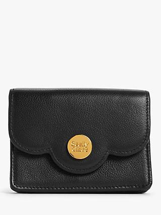 See By Chloé Scalloped Small Leather Purse