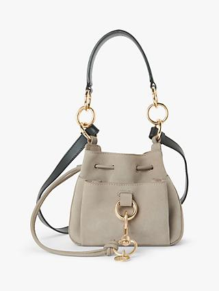 See By Chloé Tony Medium Suede Leather Slouch Bag