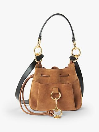 See By Chloé Tony Small Suede Leather Slouch Bag