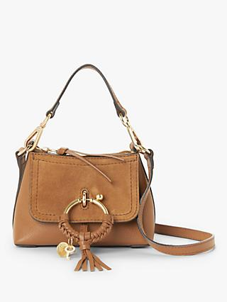 See By Chloé Joan Leather Suede Mini Satchel Bag