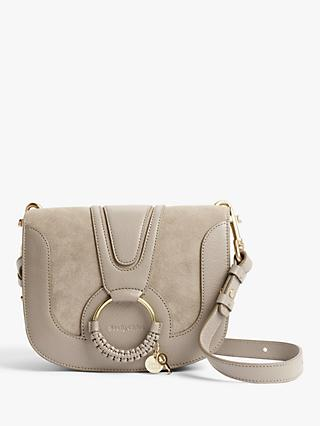 See By Chloé Small Hana Suede Leather Satchel Bag