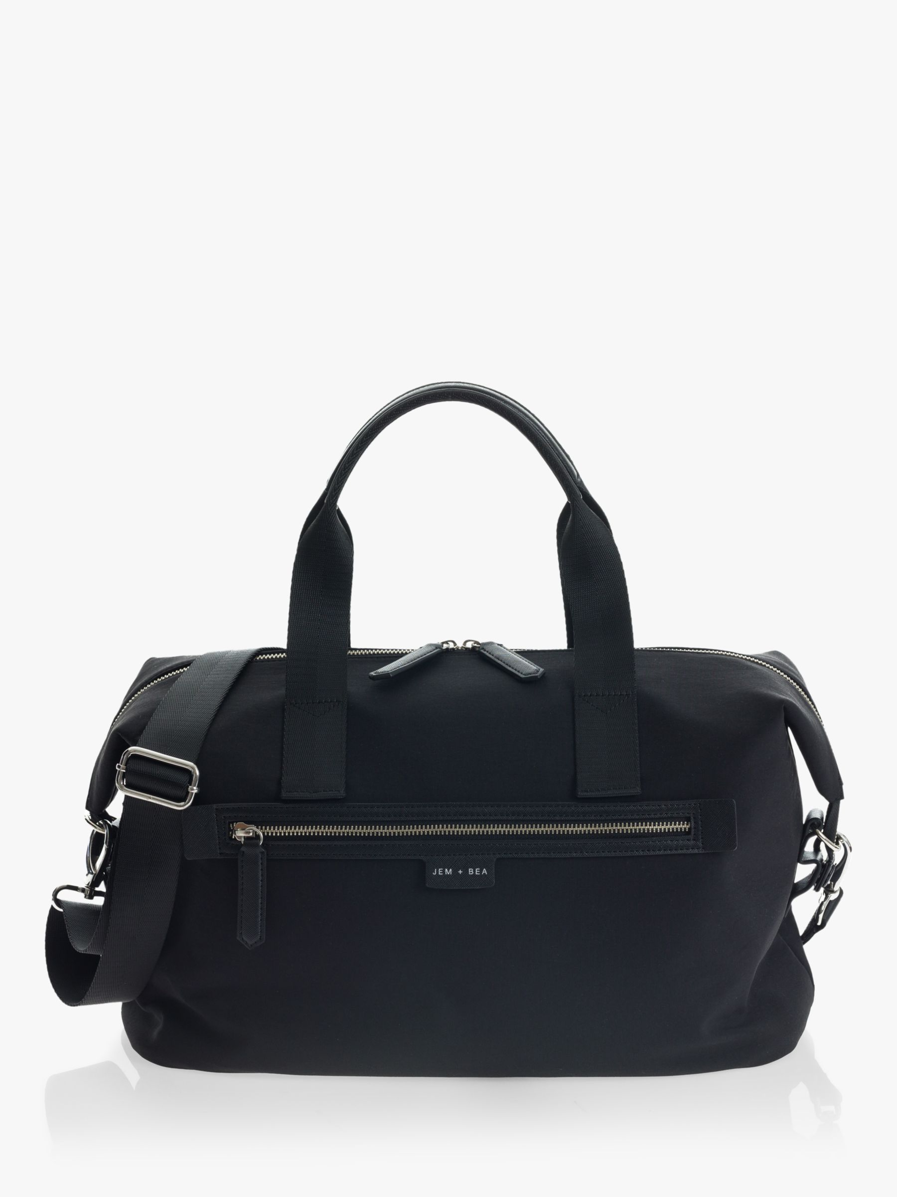 Jem + Bea JEM + BEA SUSTAINABLE Edie Eco Changing bag, Black
