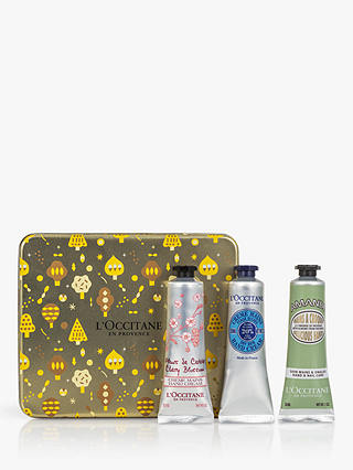 Loccitane Gift Set In Gift Wrap Hand Creams For Sale in