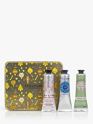 L'Occitane Hand Cream Trio Collection Bodycare Gift Set