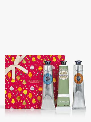 L'Occitane Nourishing Hand & Foot Trio Bodycare Gift Set