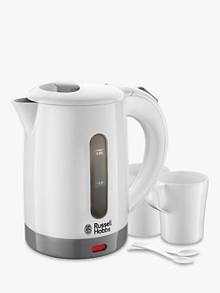 Russell Hobbs Travel Kettle Set, White