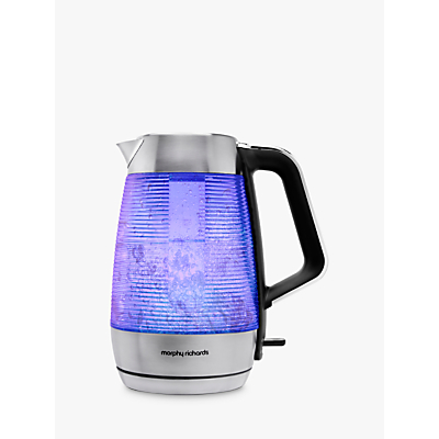 Morphy Richards 108010 Vetro Dual Wall Glass Kettle