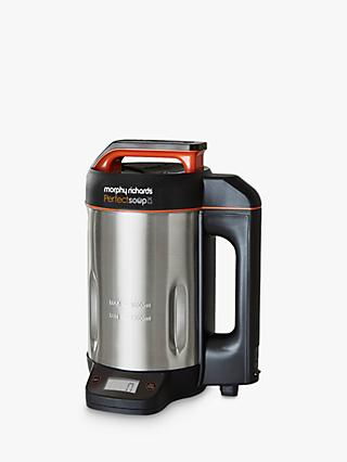 Morphy Richards 501025 Perfect Soup Maker with Scales, Stainless Steel