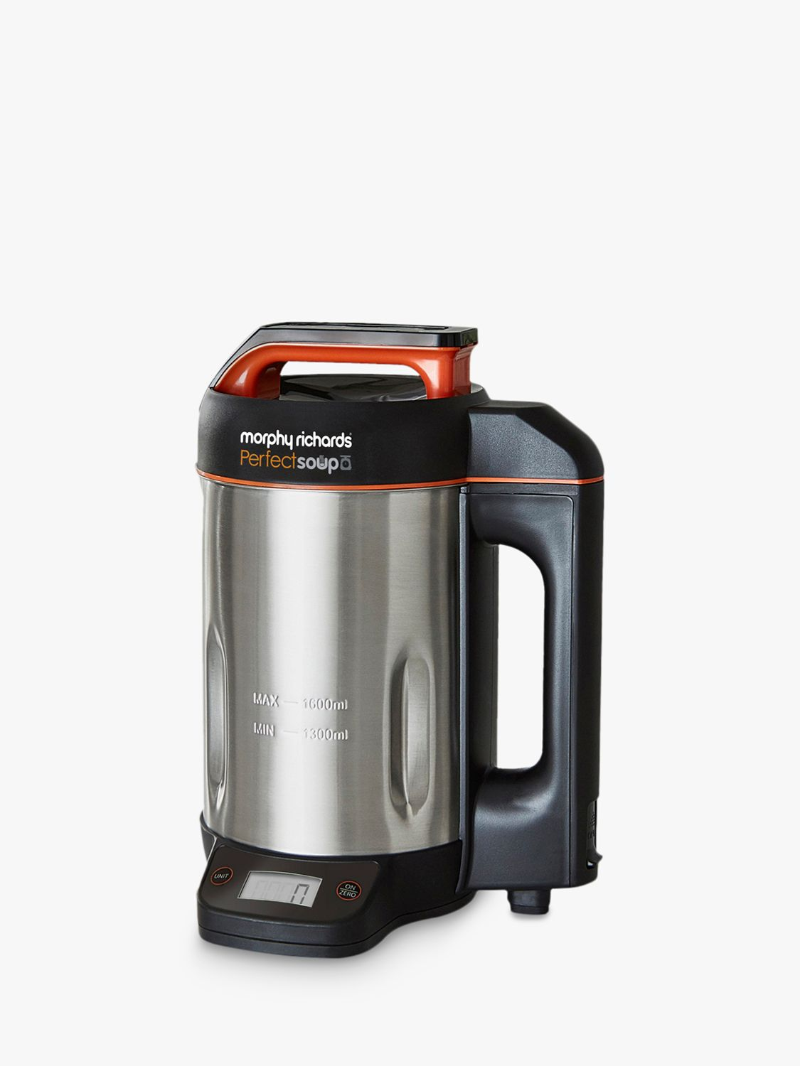 Morphy Richards Morphy Richards 501025 Perfect Soup Maker with Scales, Stainless Steel