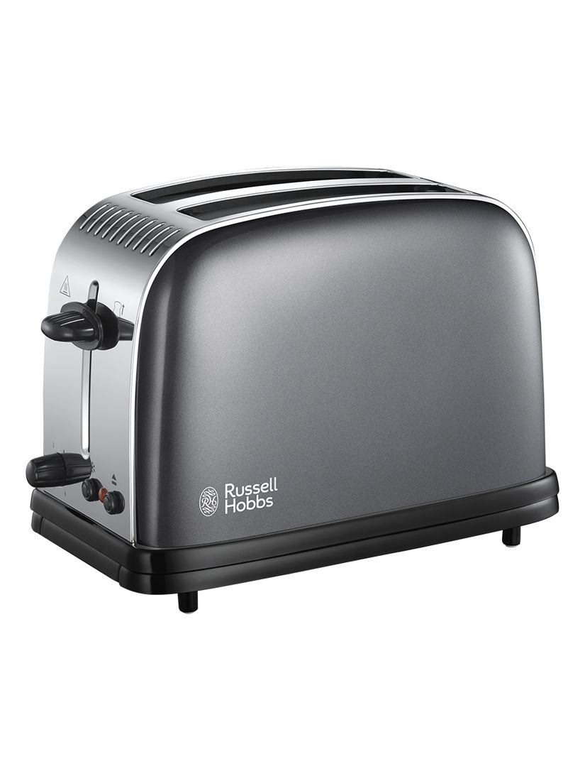 Russell Hobbs Russell Hobbs Colours Plus 2-Slice Toaster, Grey
