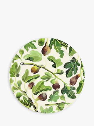 Emma Bridgewater Vegetable Garden Figs Serving Platter, 33cm, Green/Multi