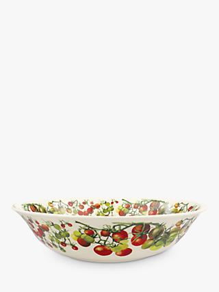Emma Bridgewater Vegetable Garden Tomatoes Large Serving Bowl, 33cm, Red/Multi
