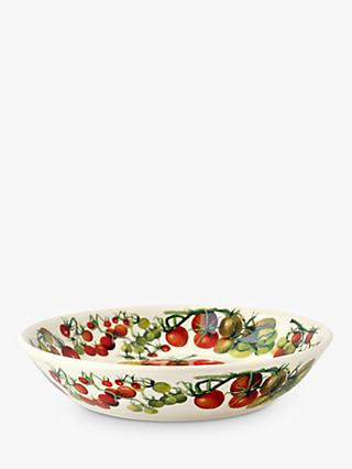 Emma Bridgewater Vegetable Garden Tomatoes Medium Pasta Bowl, 23cm, Red/Multi